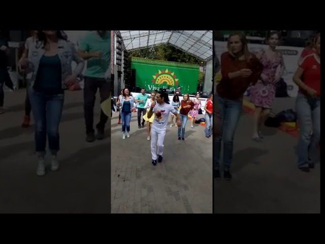 Сальса-анимация от Чино на VivaLatinoFest - KLC Clave Cubana Mentirosa