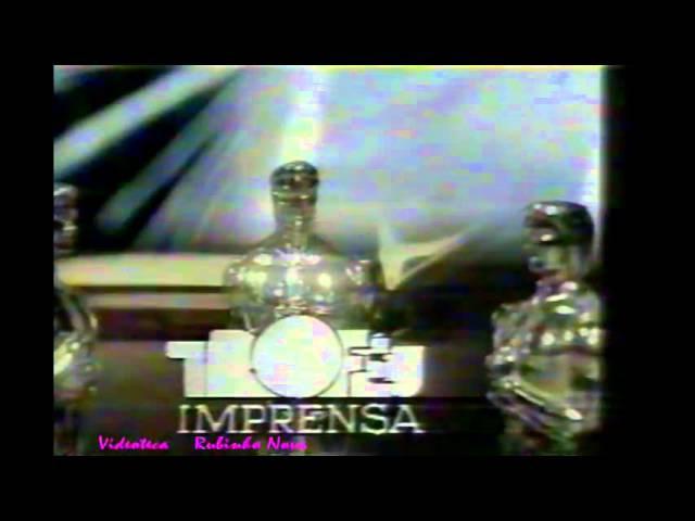 Chamada Troféu Imprensa 1986 - SBT
