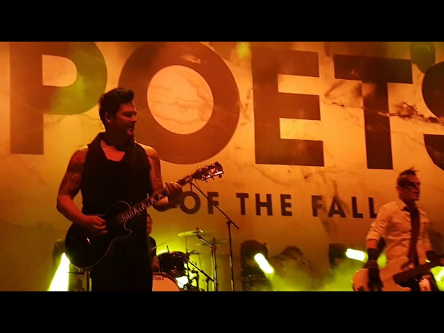 Poets of the Fall - Center Stage (Live at Stadium, Moscow, Russia, 05.11.2017)