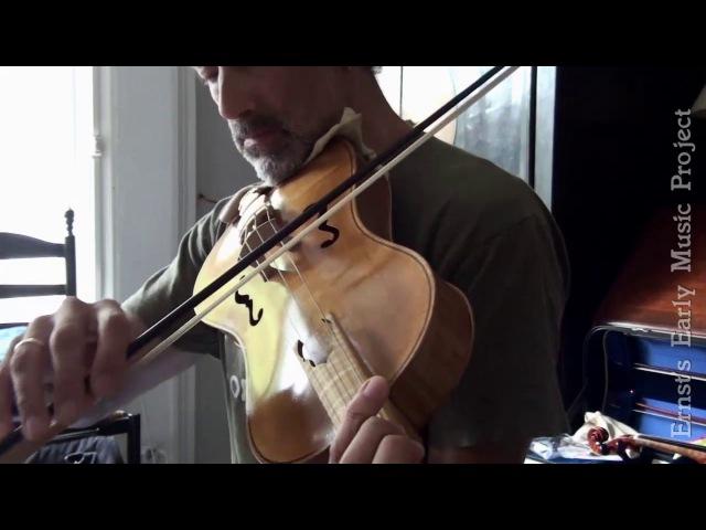 Cantiga 7 - Santa Maria Amar, on medieval alto fiddle