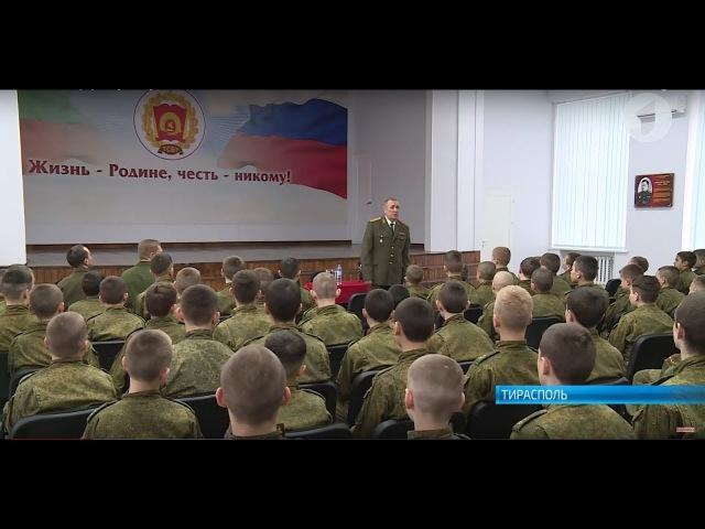 В Тираспольском суворовском училище состоялась встреча с российским генералом » Freewka.com - Смотреть онлайн в хорощем качестве