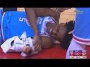 De'Aaron Fox Injury - Hits Head on the Court and Chris Paul Checks on Him!