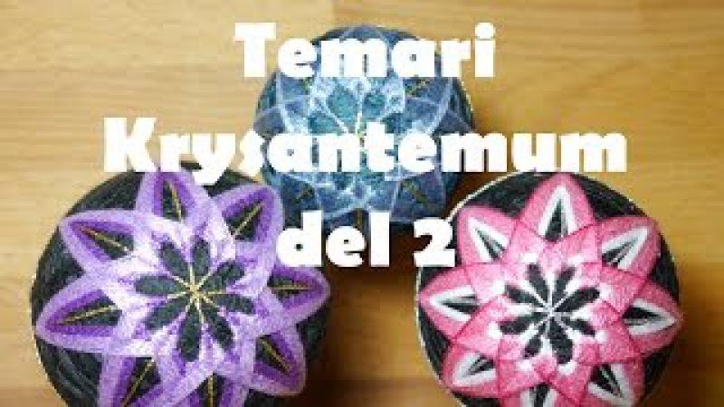Temari krysantemum del 2