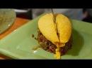Japanese Street Food OMELET RICE Kichi Kichi Omurice Kyoto Japan