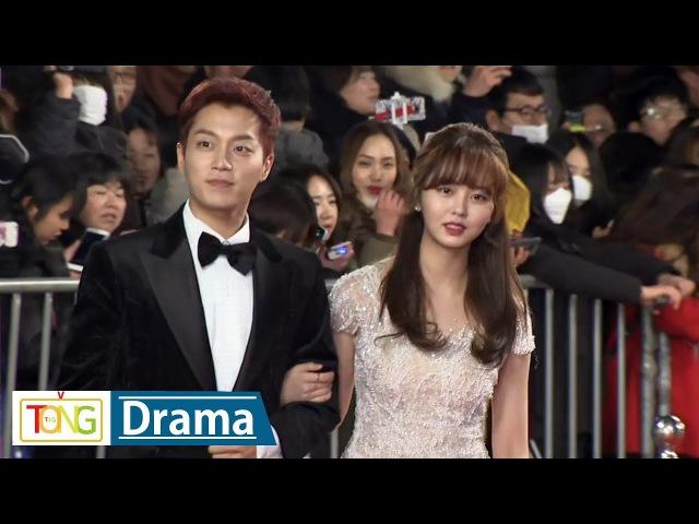 김소현·윤두준 '2017 KBS 연기대상' 레드카펫 (2017 KBS Drama Awards, Kim So Hyun, 라디오 로맨스, Highlight)