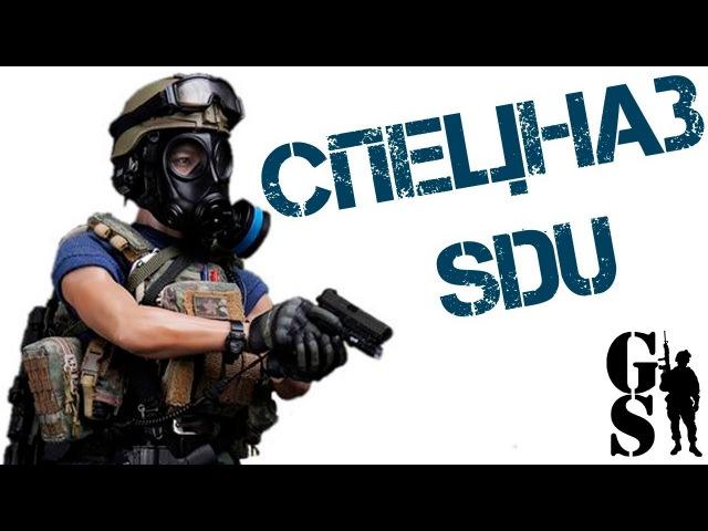 Фигурка бойца SDU (SPECIAL DUTIES UNIT) ASSAULT TEAM - LEADER (78034) – DAMTOYS