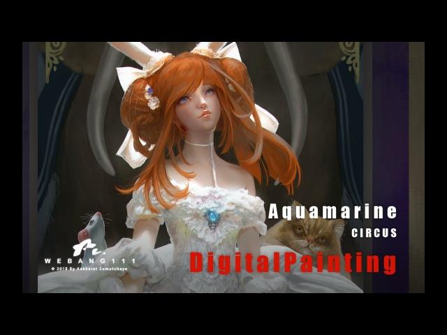 Aquamarine [End][Digital Painting]