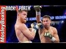 Canelo Alvarez vs GGG Golovkin | Back–And–Forth Struggle | Controversial Decision?