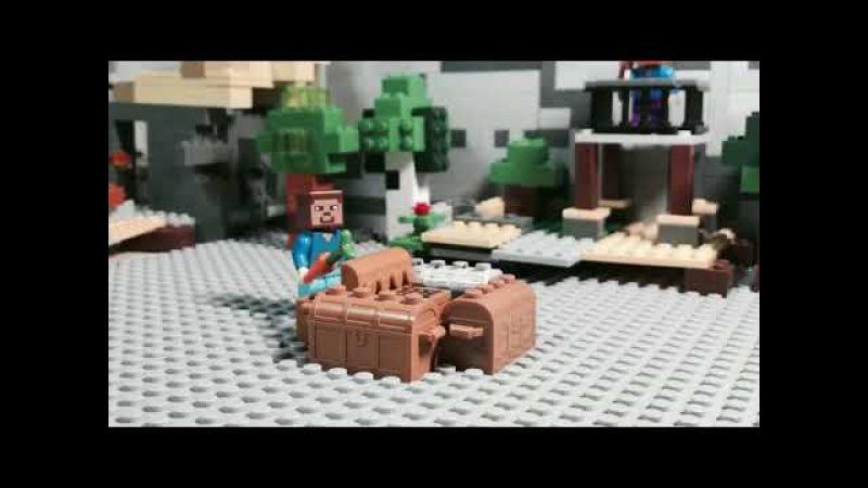 Лего мультик Майнкрафт голодные игры(lego Minecraft Hunger games)