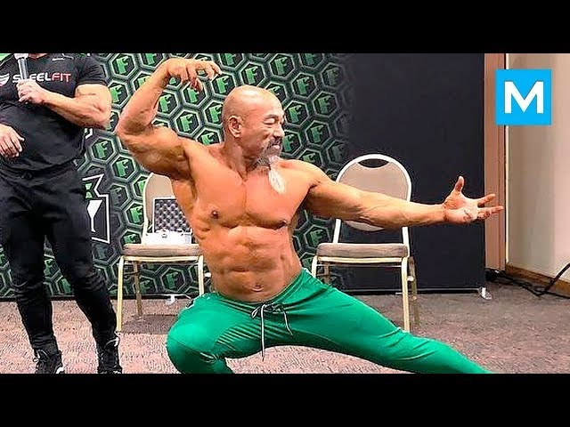MASTER ROSHI in Real Life - Nhon Ly | Muscle Madness