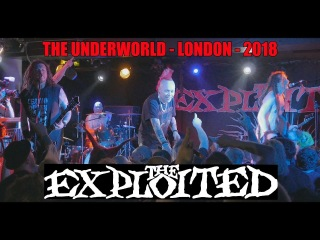THE EXPLOITED at THE UNDERWORLD. ALL THE HITS, and a few more