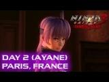 Ninja Gaiden 3 Razor's Edge прохождение день 2 (Аянэ) Париж, Франция