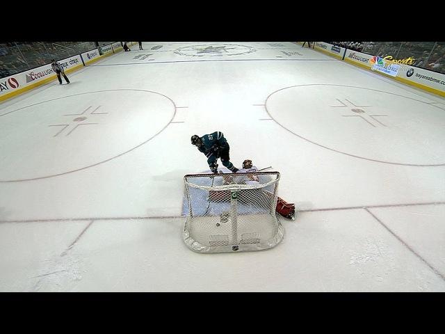 Pavelski, Donskoi score SO goals as Sharks beat Flames, 3-2