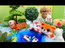 Doktor Daniel Ormanda BÜYÜK zehirleme Hayvan doktoru oyunu Oyuncak hayvanlar Hasta oyunu
