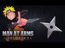 Kunai and Shuriken Naruto MAN AT ARMS REFORGED