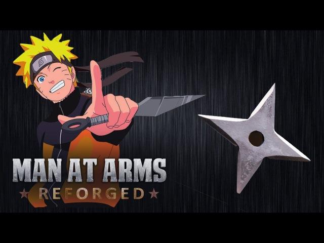 Kunai and Shuriken - Naruto - MAN AT ARMS REFORGED