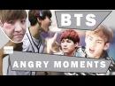 BTS ANGRY MOMENTS / ЗЛЫЕ БАНТАН ♥