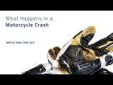 Motorcycle Crash What happens when you fall off a motorcycle Knox Scaphoid Protection System