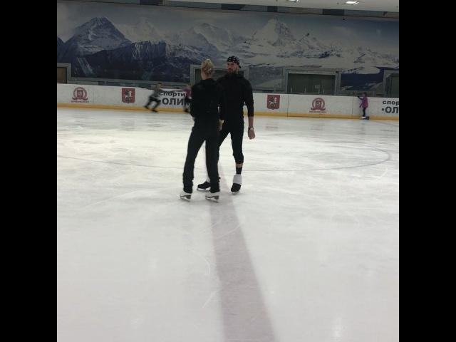 """Роман Костомаров KRS on Instagram: """"✌️Постановки , поиск,отработка,падения😜👍Скоро гастроли »Вместе и навсегда»👍😎✌️💪🇷🇺romankostomarovkrs окс.."""