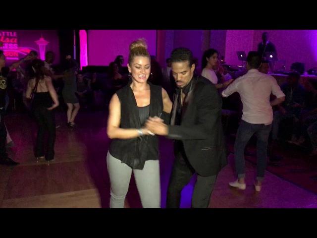 MAYKEL FONTS JORJET ALCOCER MAMBO DANCE @ SEATTLE SALSA CONGRESS 2016