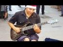 Hôtel California par DAMIAN SALAZAR un extraordinaire jeune guitariste de rue à Buenos Aires