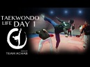 DAY 1 : Jaouad Achab - Taekwondo (First training day)
