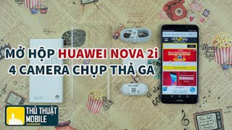 Huawei Nova 2i - chip kirin 659, 4 camera bá chủ phân khúc điện thoại 5 triệu