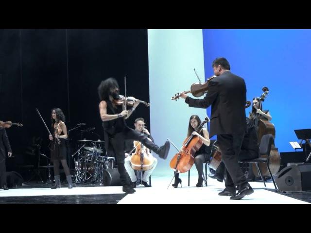 Знаменитый армянский скрипач виртуоз Ара Маликян, дирижёр,композитор и основатель квартета-Paganini.