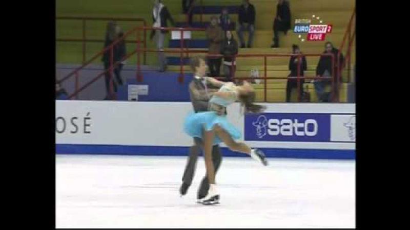 Kaitlin Hawayek Jean-Luc Baker - 2013 World Junior Championships - FD