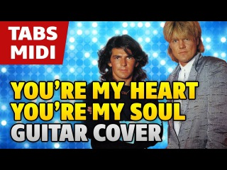 Modern Talking – You're My Heart, You're My Soul (acoustic fingerstyle guitar cover by Kaminari)