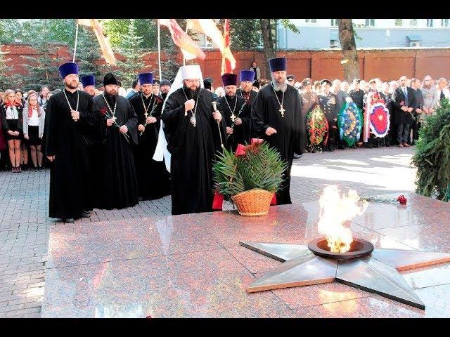 Митинг памяти 74-й годовщины освобождения Смоленщины
