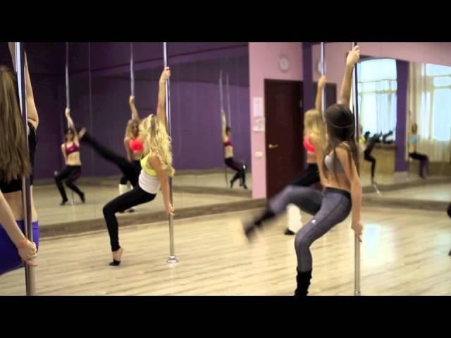 Pole Dance Studio by Yana Radko / Занятие группы с нуля, танец