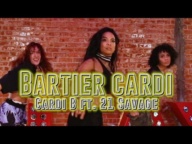 ALIYA JANELL HEELS DANCE CLASS | BARTIER CARDI | CARDI B FT. 21 SAVAGE