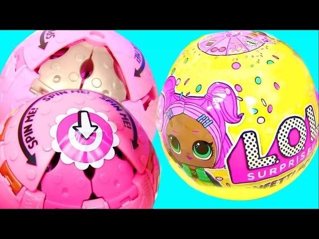 LOL SURPRISE КУКЛЫ ЛОЛ 3 СЕРИИ CONFETTI POP НОВИНКА! Видео для Детей | KatrinStories