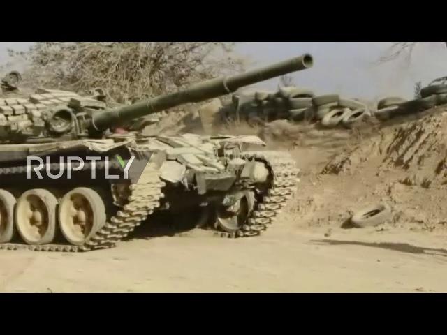 Syria: SAA battle militants at strategic base in Harasta