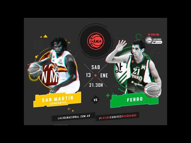 Liga Nacional: San Martín vs. Ferro | LaLigaEnTyCSports
