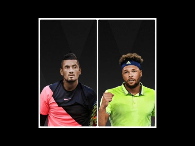Nick Kyrgios vs Jo-Wilfried Tsonga - Australian open 2018 R3 Highlights HD