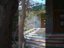 столовая на турбазе Чайка, Крым сентябрь