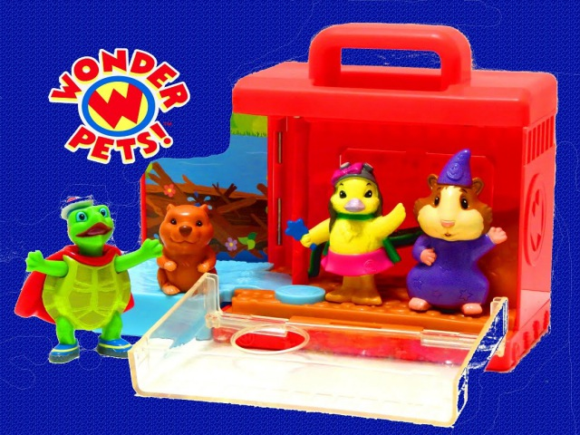 The Wonder Pets On-the-Go Playset Tuck Save the Baby Beaver - itsplaytime612