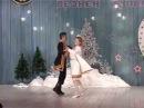 Марийский танец. Эрик и Ираида Васинкины - Новогодний концерт в Балтаси 2007 г
