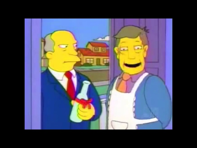 Steamed Hams but Chalmers is somewhat more inquisitive leading to a slightly altered time structure