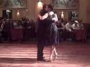 El Nene Masci y Claudia Codega performance @ Salon Canning milonga, Troilo Garras Sep 6 2013