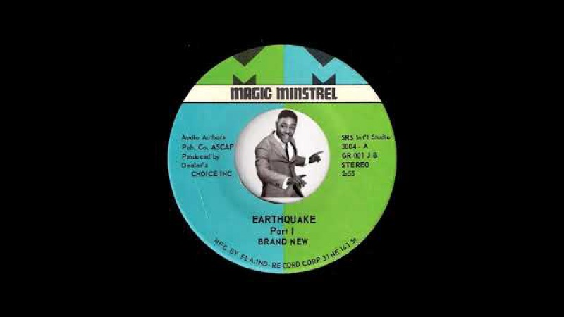Brand New - Earthquake Part I [Magic Minstrel] 70's Funk 45