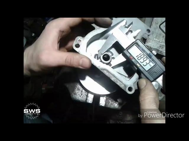 Разборка и диагностика актуатора сцепления Toyota Corolla Auris
