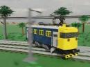 Lego Multitrack drifting
