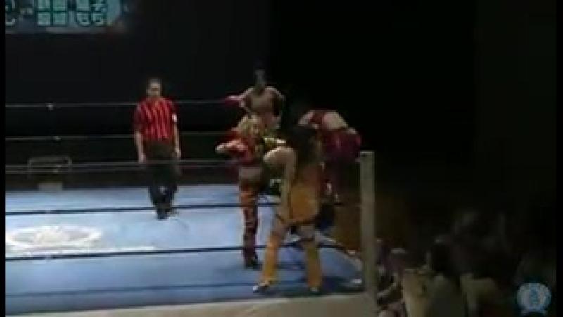 3 Ice Ribbon Aoi Kizuki Tsukushi Vs Mochi Miyagi Neko Nitta 8 2 15