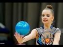 Гран-При 2018, Москва  Квалификация  Арина Аверина  мяч