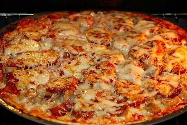 Пицца, которая сводит с ума ИНГРЕДИЕНТЫ: для теста: 500 г