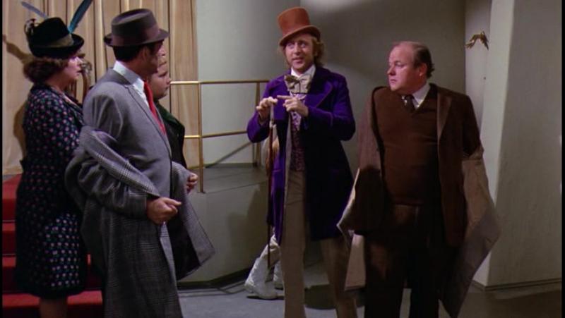 Вилли Вонка и шоколадная фабрика (1971) / Willy Wonka the Chocolate Factory (1971)