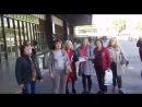 Барселона, ИСПАНИЯ ПОЁТ! - песенный флешмоб Ruso en Barcelona gran cantar una canción sobre Patria